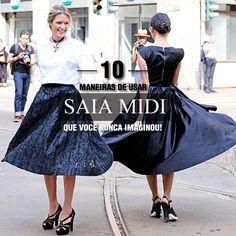 #stealthelook #look #looks #streetstyle #streetchic #moda #fashion #style #estilo #inspiration #inspired #saia #midi #skirt
