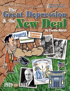 "A Timeline of Events, ""Brother, Can You Spare a Dime"": The Great Depression & The New Deal Herbert Hoover  The Great Stock Market Crash  Banks Fail, Franklin D. Roosevelt, New Deal, Tennessee Valley Authority,  Social Security, Federal Communications Commission,  Securities and Exchange Commission"
