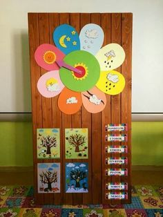 Best 12 More Details Kids Crafts, Preschool Crafts, Diy And Crafts, Paper Crafts, Preschool Shapes, Preschool Weather, Kindergarten Classroom, Class Decoration, School Decorations