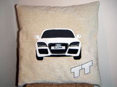 Keepsake Personalised Cushion  Audi by MollyCoddlesCushions, £35.00