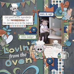 Layout using {Baked With Love} Digital Scrapbooking Kit by BoomersGirl Designs http://store.gingerscraps.net/Baked-with-Love.html and {Picture Perfect 103} Digital Scrapbook Template by Aprilisa Designs http://store.gingerscraps.net/Picture-Perfect-103-aprilisa.html
