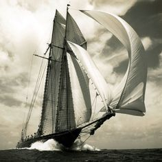 """""""Hoist up sail while gale doth last, Tide and wind stay no man's pleasure"""" ~ Robert Southwell"""