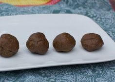 Chocolate Cayenne Protein Snack Bites by A FOODIE STAYS FIT