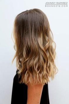 ✔ Hairstyles For Medium Length Hair Highlights Balayage Balayage Hair Blonde, Brown Blonde Hair, Blonde Highlights, Bayalage, Medium Balayage Hair, Chunky Highlights, Natural Highlights, Caramel Highlights, Color Highlights