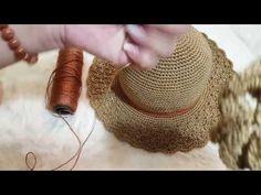 [Crochet Hat] Hướng dẫn móc mũ #3 - YouTube