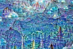"""When you look for shapes in the clouds, you'll often find things you see every day: Dogs, people, cars. It turns out that artificial """"brains"""" do the same thing. Google calls this phenomenon """"Inceptionism,"""" and it's a shocking look into how advanced artificial neural networks really are."""