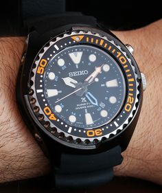 Seiko Prospex Kinetic GMT Diver's 200m Watch Hands-On Hands-On