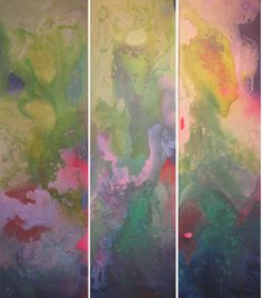 Alfredo Prior, Untitled (triptych), 2010 #colorful #abstract #art