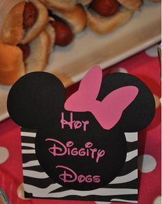 Minnie Mouse Birthday Party Food Ideas. For taylors birthday... @Lanette Neihart Neihart Neihart Jerousek