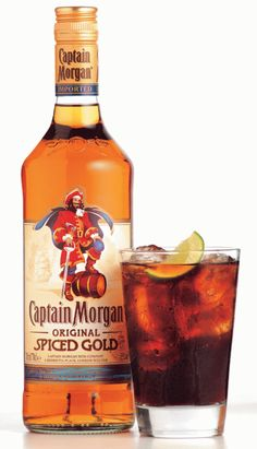 Captain Morgan w/ ginger ale= taste like cream soda.? Gonna have to try it.