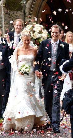 Rowena macrae and julian osborne were tying the knot at for Julian alexander wedding dresses