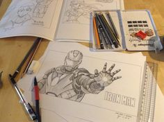 Iron Man #Sketch