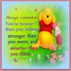 Always remember positive quotes positive quote quotes life quote life quotes quote inspiring winnie the pooh
