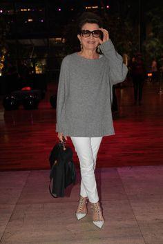 Costanza Pascolato Women´s Fashion Style Inspiration - Moda Feminina Estilo Inspiração - Look - Outfit