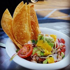 Hearts of palm ceviche, so delish and refreshing!