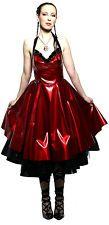 LIP SERVICE VINYL TULLE BALL PROM WEDDING GOTHIC CORSET FETISH VAMPIRE DRESS XL