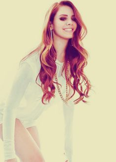Lana Del Rey - love her hair color and style <3