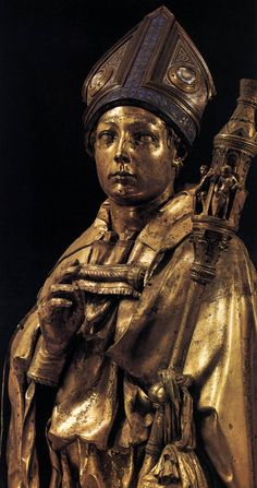 St Louis of Toulouse (detail) Gilded bronze Museo dell'Opera di Santa Croce, Florence Religious Images, Religious Art, Web Gallery, European Paintings, Image Collection, Betta, Art And Architecture, St Louis, Statues