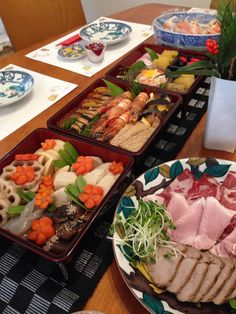 Traditional Japanese Osechi cuisine, for new year days.