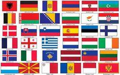 Vocabulario en imágenes. Maestra de Infantil y Primaria.: Banderas de Europa Desktop Pictures, Flags Of The World, Free Hd Wallpapers, Colorful Pictures, Coloring Pages, Benny Hill, Comics, Children, Flags