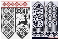 New Crochet Kids Socks Christmas Gifts Ideas Crochet Bookmark Pattern, Crochet Mittens Pattern, Crochet Bookmarks, Crochet Stitches Patterns, Knit Mittens, Crochet Chart, Knitting Socks, Stitch Patterns, Knitting Patterns