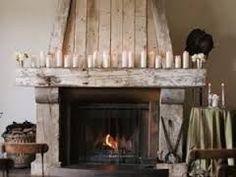 Relooking de chemin e sur pinterest chemin es en briques peintes manteaux - Relooker une cheminee rustique ...