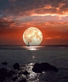 Moon Photos, Moon Pictures, Beautiful Moon, Beautiful Places, Wonderful Places, Beautiful Pictures, Stars Night, Natur Wallpaper, Shoot The Moon