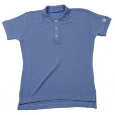 Ladies Plain Polo Shirt - Sky Blue £65.00- Complete with lock stitched Polistas branded buttons and our traditional classic feminine fit, this 100% cotton pique twill weave polo is the epitome of classic polo style. The Plain Polo is casual enough for the house and stylish enough for the polo field; whether your competing or cheering on your favourite team.