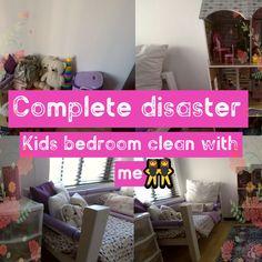 Getting my kids bedroom back in order!