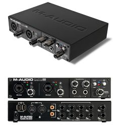 Home recording studio?! Yeah, this is all you need. The best audio interface I've seen in years...