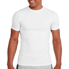 Starter Big Men's Fitted Base Layer Tee, Size: 4XL, White