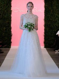 Os mais incríveis vestidos de noiva com tule para 2015: sinta-se uma princesa Image: 28