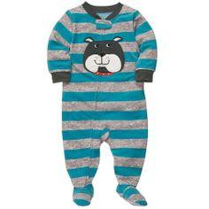 Black Friday Carter's Boys 1-piece Micro-fleece Pajamas (12 Months, Dog Grey Heather) from Carter's Cyber Monday