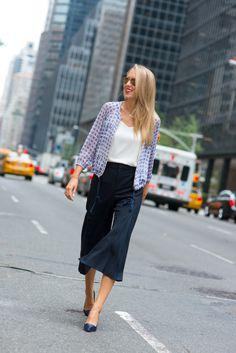 d+navy+wool+club+monaco+wide+leg+culottes+gauchos+silk+printed+blue+and+white+bomber+lightweight+jacket+white+spaghettie+strap+v-neck+camisole+white+silk+top+jimmy+choo+navy+embossed+pumps+summer+work+wear+office+attire+fashion+street+style+blog.jpg (640×959)