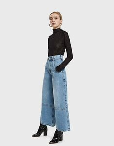 Women Jeans Outfit Uniform Pants Silver Mother Of The Bride Dresses Casual Wedding Outfits For Men Inspired Outfits Garden Party Dress Jeans And Heels Outfit – orchidrlily Heels Outfits, Jean Outfits, Fall Outfits, Casual Outfits, Look Fashion, Winter Fashion, Fashion Outfits, Womens Fashion, Gothic Fashion