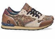 Groene D.A.T.E. schoenen Boston sneakers