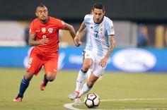 Di Maria versus Chile! #9ineSports @Argentina Chile, Running, Argentina, Keep Running, Why I Run, Chili