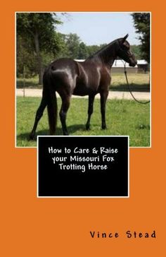 How to Care & Raise your Missouri Fox Trotting Horse by Vince Stead. $4.99…