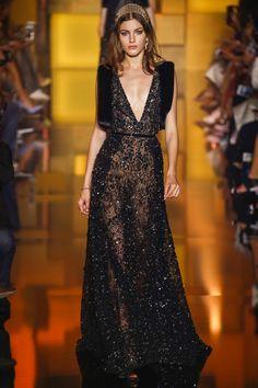 Elie Saab | Fall/Winter 2015 Couture Collection via Designer Elie Saab | Modeled by Valery Kaufman (Elite) | Paris, July 8, 2015