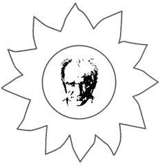 Cumhuriyet Bayramı Atatürk | OkulöncesiTR-Preschool Mandala, Republic Day, School Decorations, Child Development, Kids And Parenting, Art Lessons, Special Day, Home Crafts, Coloring Pages