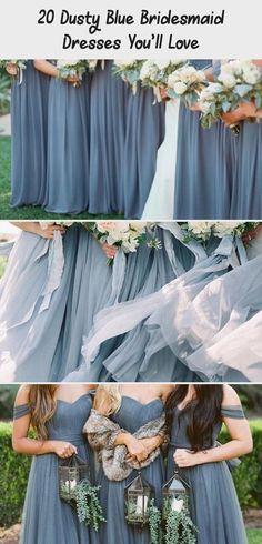 dusty blue wedding color ideas - dusty blue bridesmaid dresses  #weddings #wedding #blueweddings #weddingcolors #weddingideas #dustyblue #beautiful #dresses #bridesmaid #AfricanBridesmaidDresses #BridesmaidDressesCountry #WeddingBridesmaidDresses #BridesmaidDressesMauve #GoldBridesmaidDresses