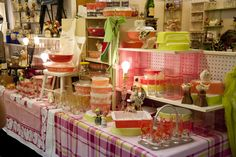 Pink vintage kitchen love