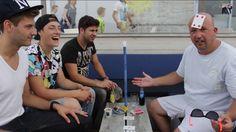 Samen met de YouTube sensatie 'Ponkers' ivm opname GDZ clip