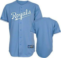 Kansas City Royals Atlantic Blue Alternate Replica Baseball Jersey
