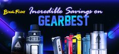 """Massive """"Black Friday"""" Savings from Gearbest Start Now, I Quit, I Can Do It, Electronic Cigarette, Vape, Black Friday, The Incredibles, Mobiles, Html"""