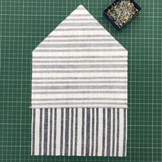 A patch pocket with a difference tutorial The Fold Line, Sewing A Button, Buttonholes, Sewing Tutorials, Patches, Stripes, Pockets, Stitch, Pattern