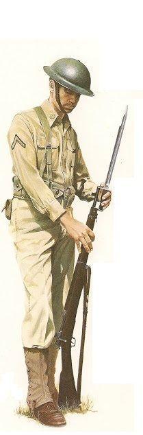 EARLY US ARMY WW2 UNIFORM