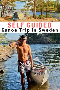 Read about my adventure into the wilderness in Sweden on a canoe trip. You will need these travel tips for this self guided journey on the lakes of the Varmland trust me! Canoe Boat, Canoe Camping, Canoe Trip, Kayaking Tips, Whitewater Kayaking, Canoeing, Camping Checklist, Camping Essentials, Camping Ideas