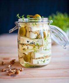 Raw Vegan, Pesto, Pickles, Food To Make, Stuffed Mushrooms, Food And Drink, Veggies, Cooking Recipes, Vegetarian
