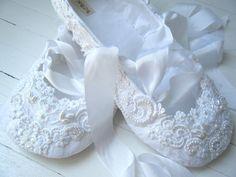 etsy custom bridal ballet shoe flats for the bride